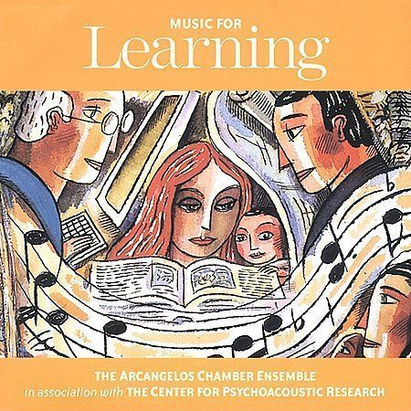 Music for Learning by Arcangelos Chamber Ensemble CD, 1999 FACTORY SEALED MINT