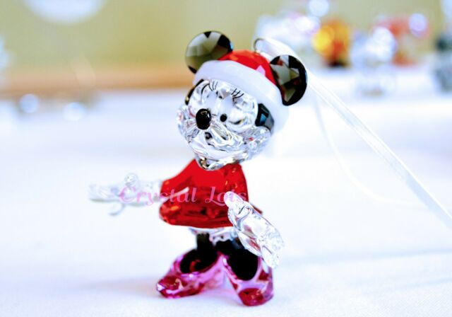 Swarovski Disney Minnie Mouse Christmas Ornament 5004687 Brand New In Box