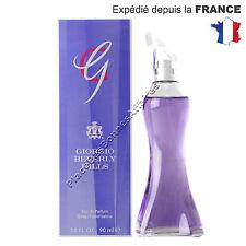 Parfum GIORGIO G de Giorgio Beverly Hills EDP femme 90ml Neuf sous Blister !!!