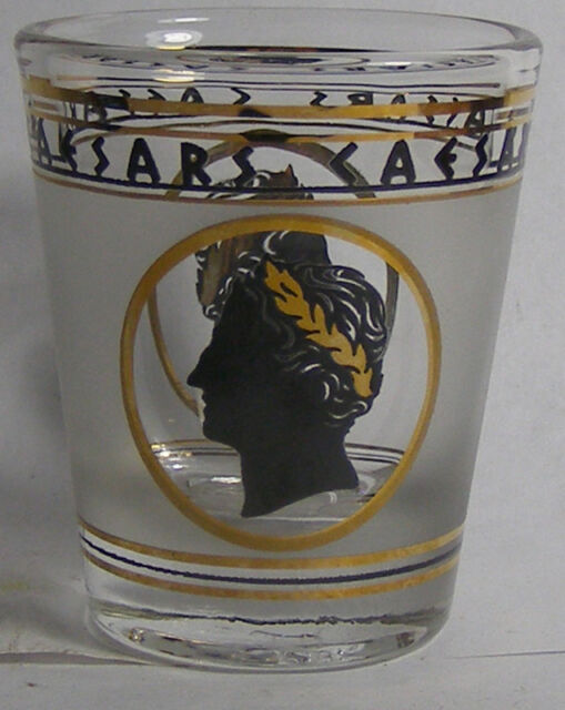Caesars Logo Shot Glass #2730