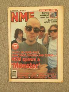 NME Magazine- September 17 1994 REM, Courtney on Kurt, Massive Attack, East 17,