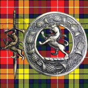"Scottish Kilt Fly Plaid Brooch Lion Rampant Silver Finish 3/""//Sash Brooch /& Pins"