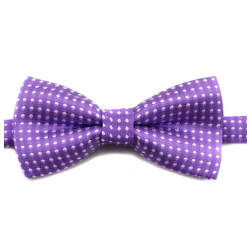 Kids Boys Wedding Party Pet Polka Dot Bow Tie Butterfly Bowtie Tuxedo Ties New