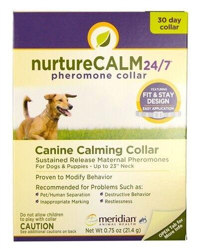 "Nurture Calm Phero Collar Canine 23/"" Provides Superior Longer-Lasting Delivery"