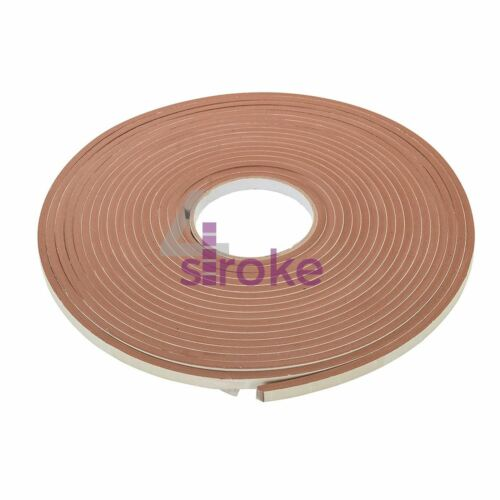 10mtr Foam Draught Excluder Weather Seal Strip Tape Door Window Draft Insulation