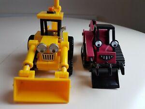 Bob-The-giocattolo-veicolo-Builder-personaggi-Push-amp-Friction-alimentato-Benny-amp-Scoop