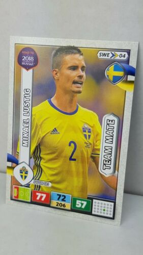 2018 Road To Russia-Team Mates Sweden-Soccer cards sélection//SELECTION