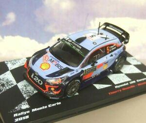DIECAST-1-43-HYUNDAI-i20-WRC-5-5TH-MONTE-CARLO-RALLY-2018-T-NEUVILLE-N-GILSOUL