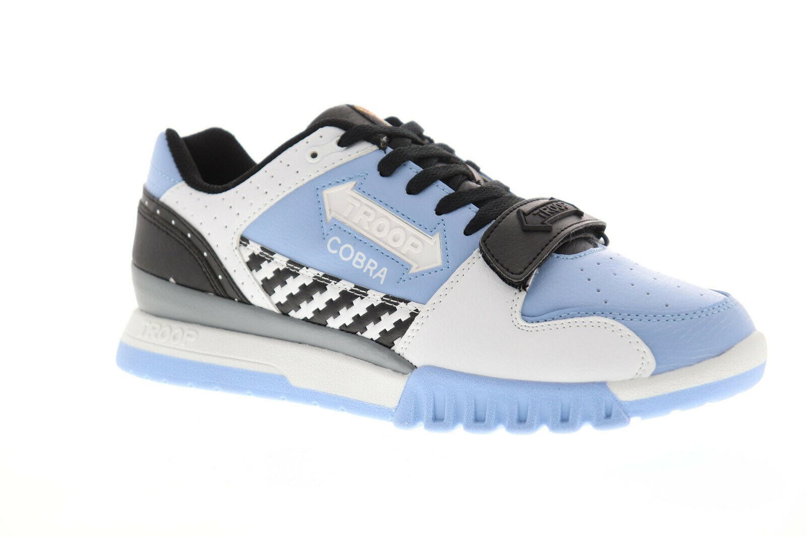 World Of Troop Cobra Light Mens blueee Synthetic Low Top Sneakers shoes