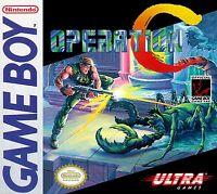 Nintendo Nes Gameboy Operation C Box Cover Photo Poster Game Decor