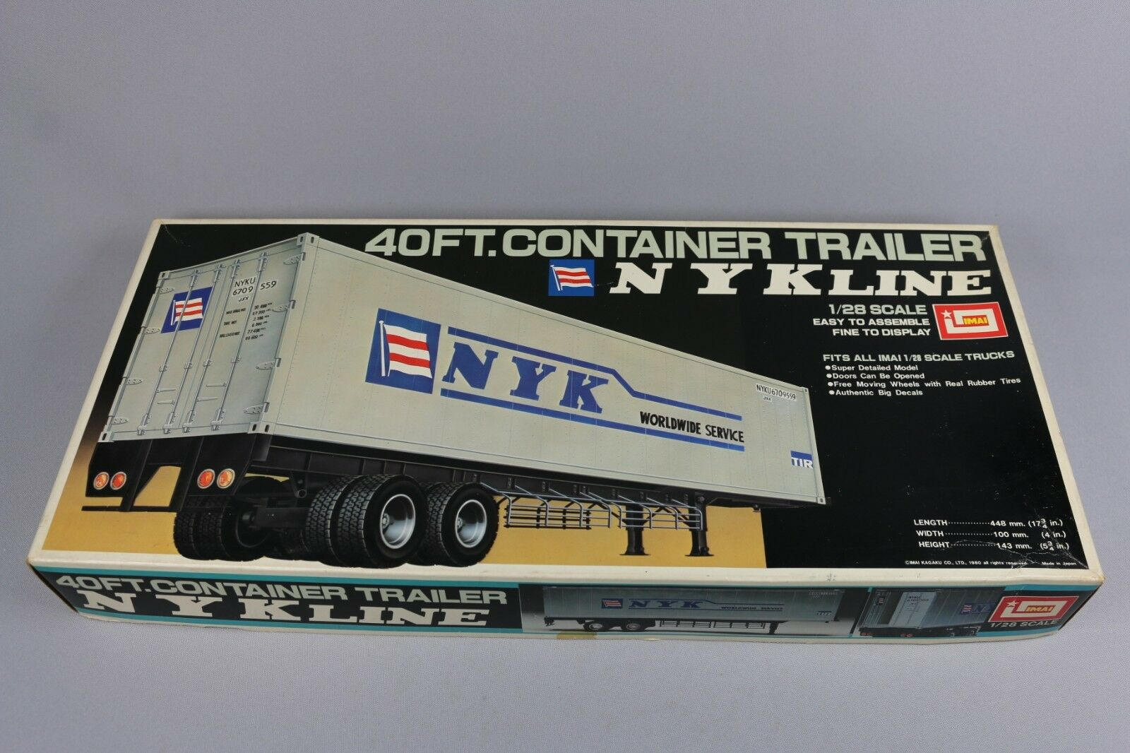 Zf1361 Imai 1 28 modellolo Truck B-995 40ft. Container Trailer Nyk mondowide