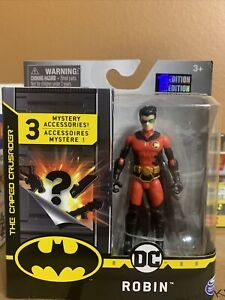 DC ROBIN Figure Batman The caped crusader 1st Edition SHIPPED =FREE IN A BOX