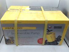 Wacker Neuson Pst2 400 2 Submersible Pump 110v60hz 12 Hp 20 Cord New