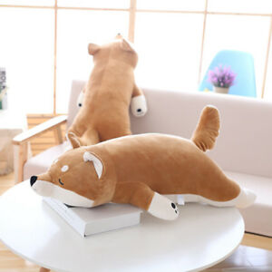 Cute-Shiba-Inu-Dog-Animal-Stuffed-Plush-Doll-Soft-Toy-Pillow-Cushion-Kid-Gift
