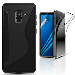 Samsung-Galaxy-J6-Plus-J4-Plus-2018-Gel-Phone-Case-Cover-amp-Screen-Protector