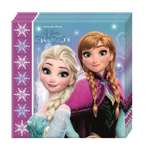 Frozen die Eiskönigin Nord Lichter Party Servietten Kindergeburtstag Tisch Deko