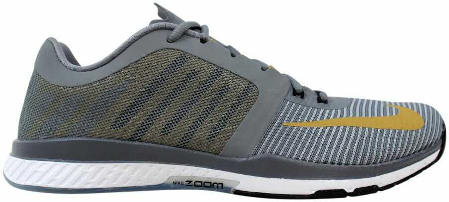 Nike Zoom Speed TR3 Cool Grey Metallic gold 804401-070 Men's Size 7.5