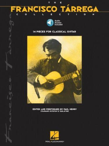 The Francisco Tarrega Collection Book and Audio Guitar Collection 000698993