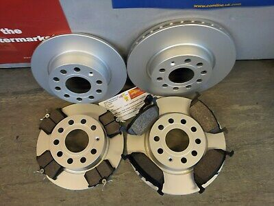 REAR DISCS AND PADS FOR AUDI A3 SPORTBACK 2.0 TDI 9//2004