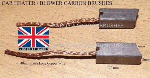 Motor Heater Blower fan ac replace fix carbon brushes audi 80 bmw a4 avant a3 B1