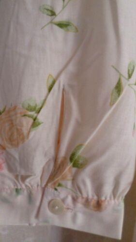 atisa Damen Nachthemd langer Arm Knopfleiste Pflegeleicht Champ.Gr.56//58 NEU h