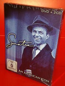 2 CD + DVD FRANK SINATRA - AN AMERICAN ICON - SEALED SIGILLATO