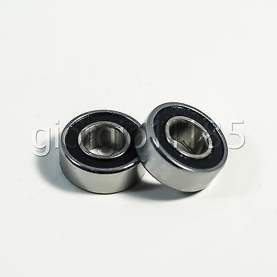 10pcs MR115-2RS Rubber Sealed Ball Bearing Miniature Bearing 5 x 11 x 4mm