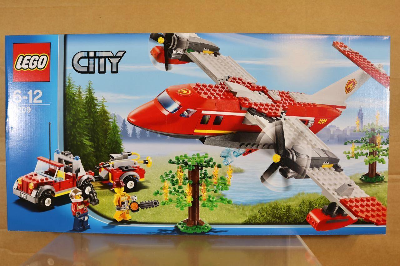 primera reputación de los clientes primero Lego Lego Lego 4209 Ciudad Bush Fuego Avión & Coche de Bomberos Set Sellado Nr  descuento de bajo precio