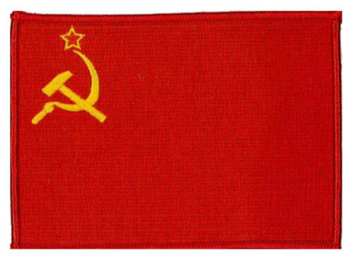 "approx USSR 4 3//4/"" X 3 1//2/"" embroidered Patch 12 X 9CM"