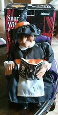ANIMATED SNORING WITCH GEMMY WORKING EXCELLENT CONDITION