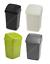 50 L Large Waste Rubbish Bin Recycling Basket Paper Swing Flip Top Lid Set of 2