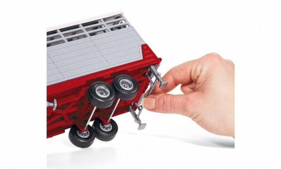 Siku 3870 Steyr Tractor con Remolque de Stock - 1:32