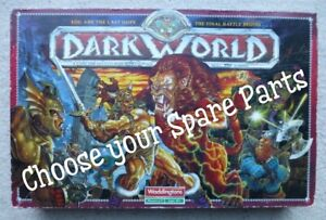 DARKWORLD Board Game SPARE PARTS