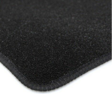 Perfect Fit Black Carpet Car Floor Mats for Vauxhall Zafira 05-11 with Heel Pad