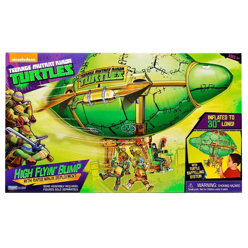 Teenage Mutant Ninja Turtles 30  High Flyin dirigible vehículo Leo Mikey Raph Donnie