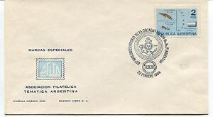 1964 60° Aniv. Observatorio Islas Orcadas Del Sur Argentin Polar Antarctic Cover Marchandises De Proximité