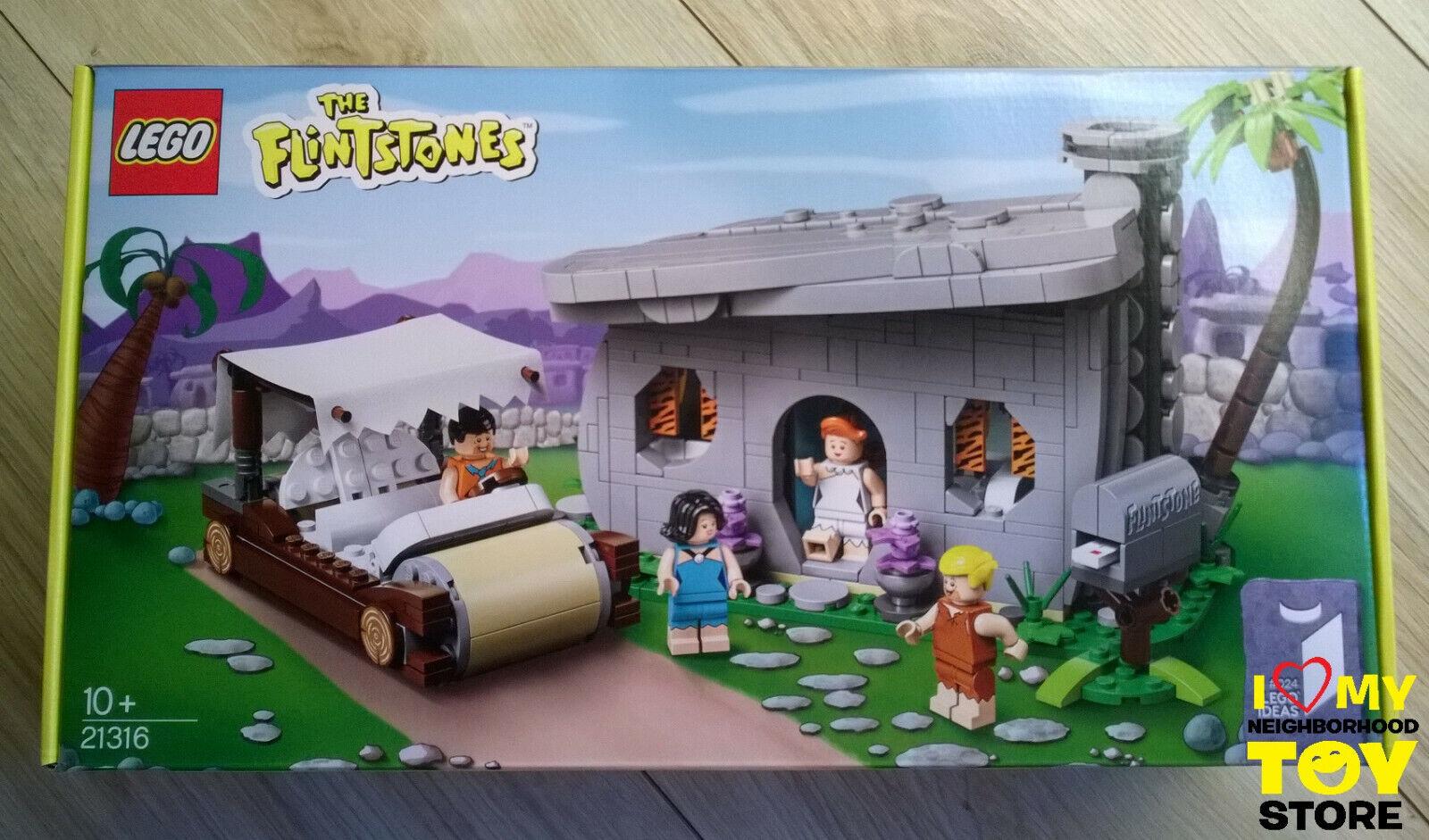 IN IN IN STOCK - LEGO 21316 IDEAS  024 THE FLINTSTONES™ (2019) - MISB a8e189