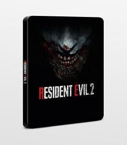 Resident-Evil-2-Remake-G2-Steelbook-PC-Playstation-4-PS4-Xbox-One-X1-NEU