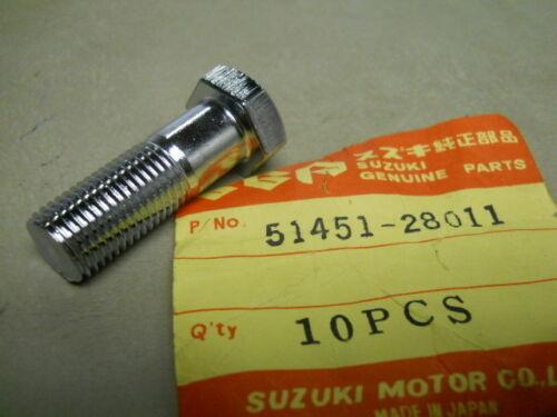 Suzuki NOS GT185 TC125 # 51451-28011    S-9 Fork Inner Tube F Bolt RV125