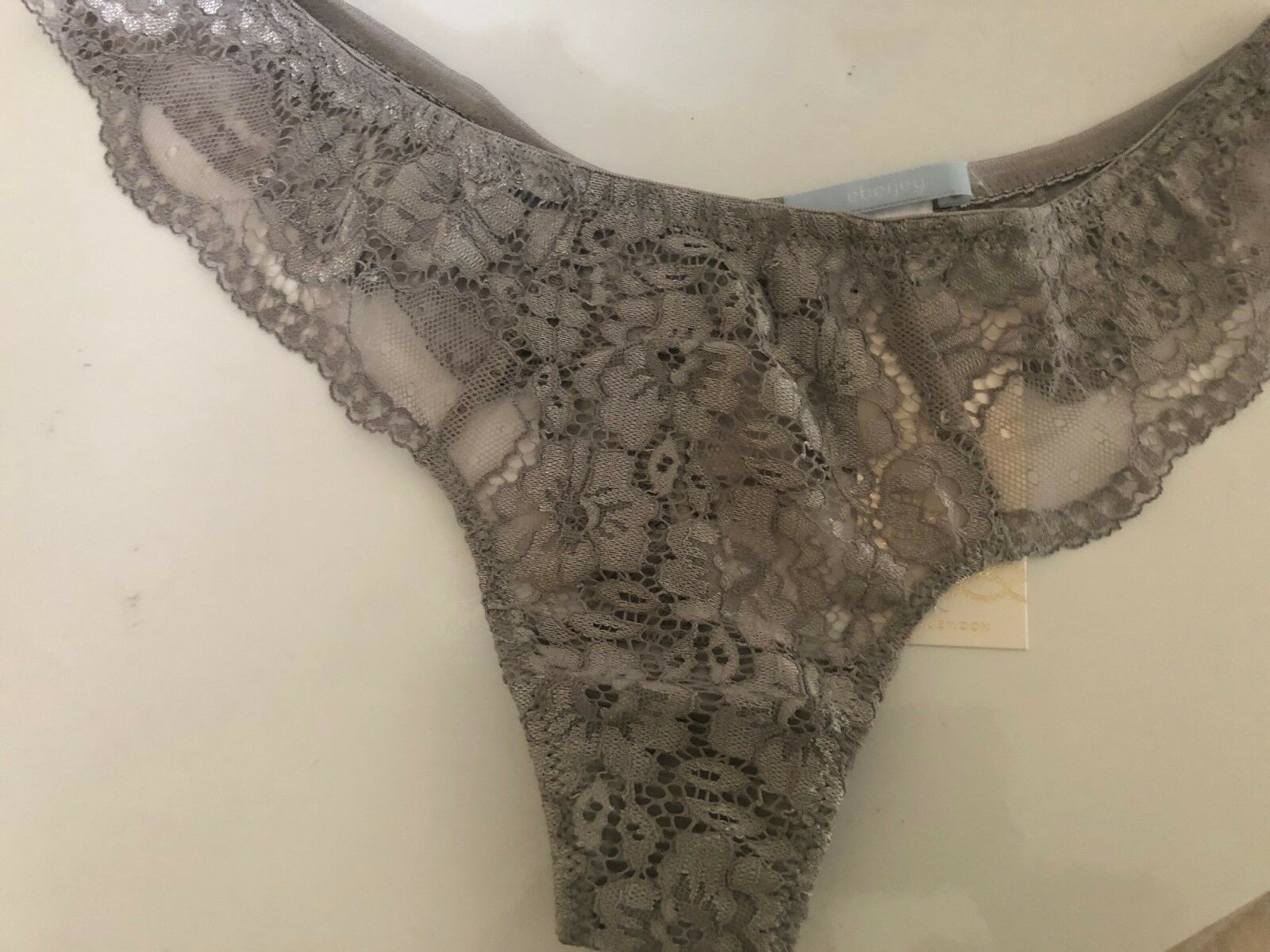 Eberjey Noor Lace Thong (  47) w tax  (sizes medium and large)