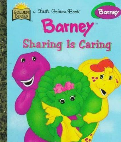 Barney Ser Barney Sharing Is Caring By Mark S Bernthal 1999 Hardcover For Sale Online Ebay