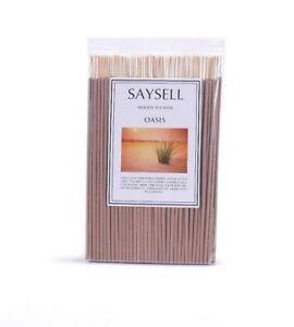 Oasis-Woody-8-034-Incense-Joss-Sticks-Agarbatti-Long-Burning-x-100-by-Saysell