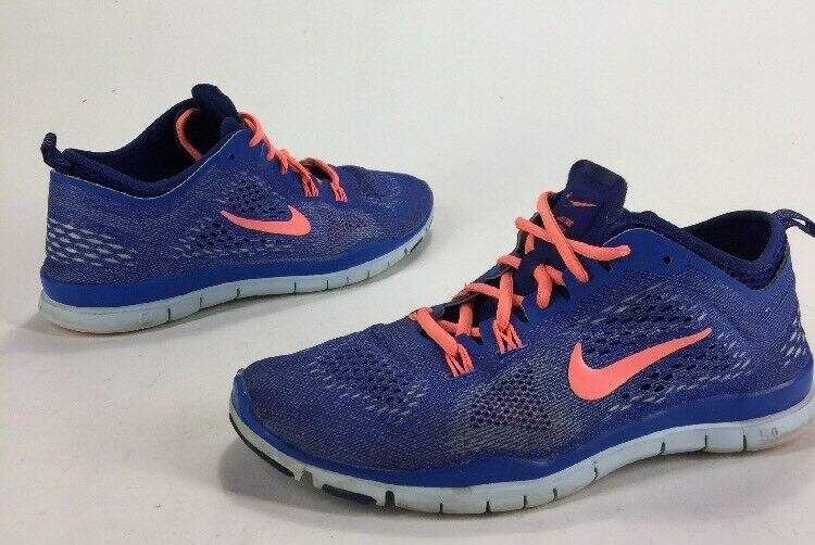 Womens Shoes Nike Free TR Fit 4 Running Shoes Womens Blue Mango Size 7 b1e714