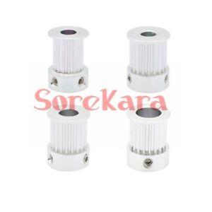 5PCS-Aluminum-GT2-Timing-Pulley-16T-2GT-Pulley-Fit-Belt-Width-10mm-3D-Printer