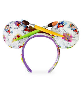 New Disney Parks Epcot 2020 Festival Of Arts Mickey Ink And Paint Minnie Ears Ebay