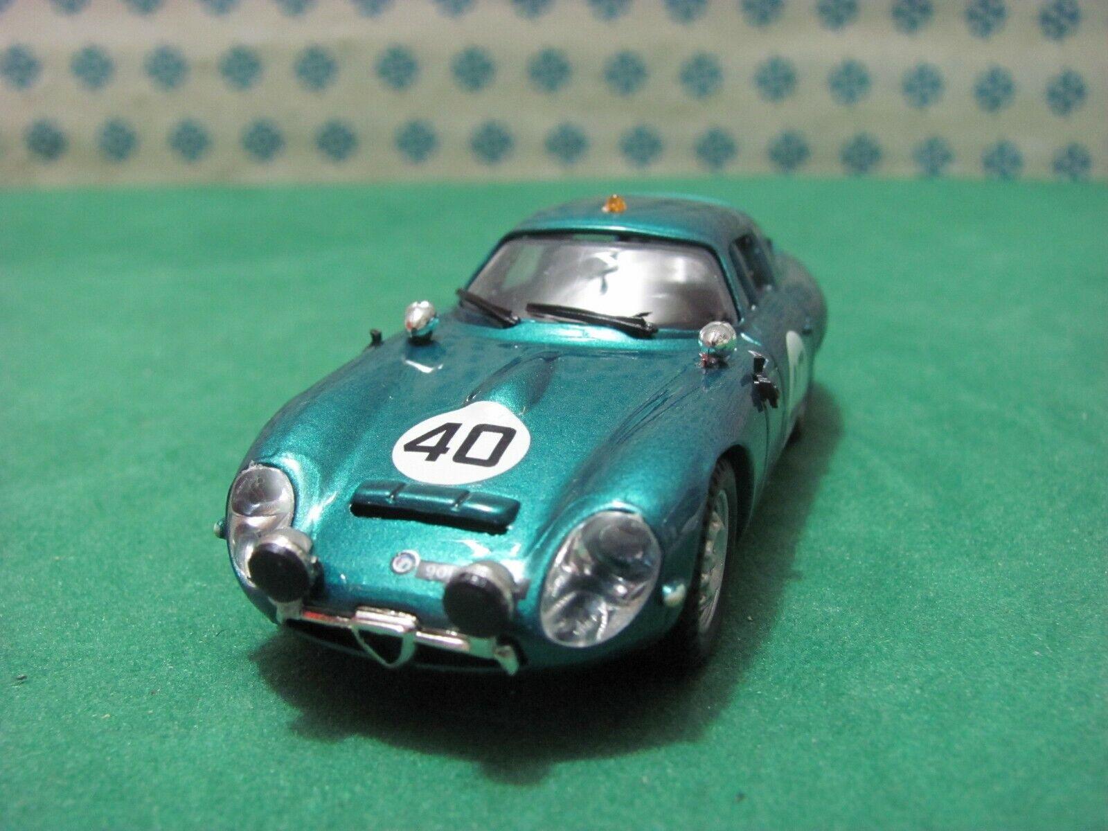 ALFA  ROMEO Giulia TZ 1 Zagato coupé 1600  Le Mans 1964  - 1 43 Best 9068  derniers styles