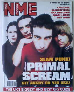 PRIMAL-SCREAM-RARE-NME-13-November-1999-KORN-WILL-SMITH-DEATH-IN-VEGAS-SHACK