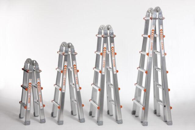 Euroline alu vario klappleiter sprossen ebay