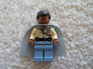 LEGO-Star-Wars-Rare-Original-General-Lando-Calrissian-Minifig-Excellent