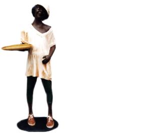 Design Agata personaje estatua escultura figuras esculturas decoración decorativas 7038 nuevo